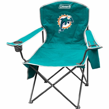 Miami Dolphins Cooler Quad Tailgate Chair