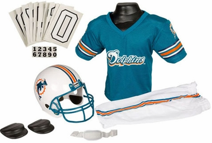 Miami Dolphins Deluxe Youth Uniform Set