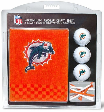 Miami Dolphins Embroidered Towel Gift Set
