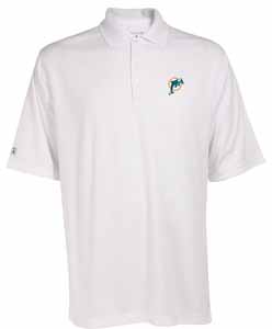 Miami Dolphins Mens Exceed Polo (Color: White) - XXX-Large