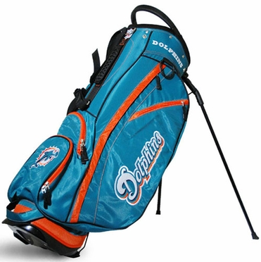 Miami Dolphins Fairway Stand Bag