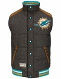 Miami Dolphins One Too Many Wordmark Ugly Sweater