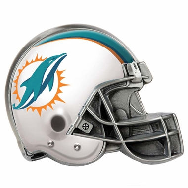 Miami Dolphins Metal Helmet Trailer Hitch Cover