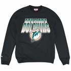 Men's Miami Dolphins Majestic Aqua To The Limits Synthetic Cool Base T-Shirt