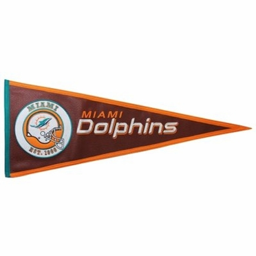 Miami Dolphins Pigskin Pennant