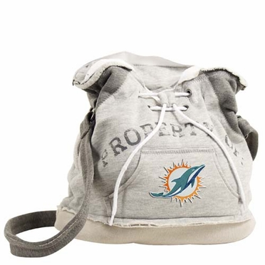 Miami Dolphins Property of Hoody Duffle