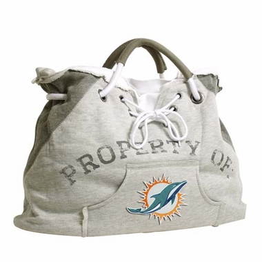Miami Dolphins Property of Hoody Tote
