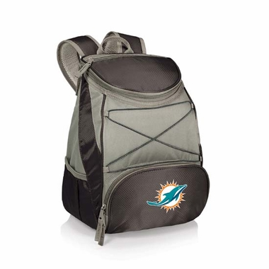 Miami Dolphins PTX Backpack Cooler (Black)