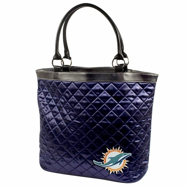Miami Dolphins Quilted Tote