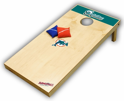 Miami Dolphins Regulation Size (XL) Tailgate Toss Beanbag Game