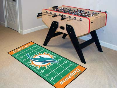 Miami Dolphins Runner Rug