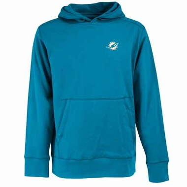 Miami Dolphins Mens Signature Hooded Sweatshirt (Alternate Color: Aqua)
