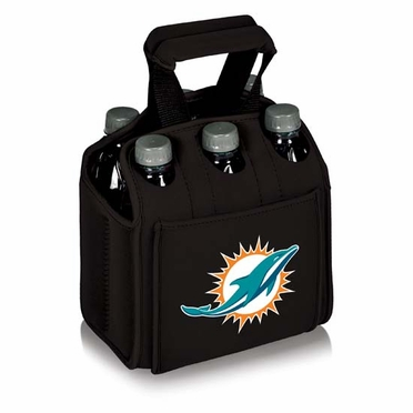 Miami Dolphins Six Pack (Black)