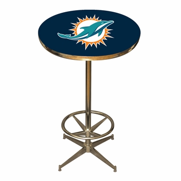 Miami Dolphins Team Pub Table