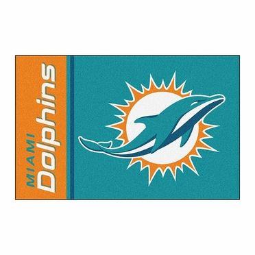 Miami Dolphins Uniform Inspired 20 x 30 Rug