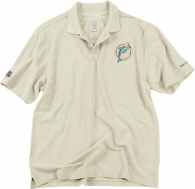 Miami Dolphins Vintage Retro Polo Shirt
