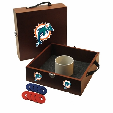 Miami Dolphins Washer Toss Game