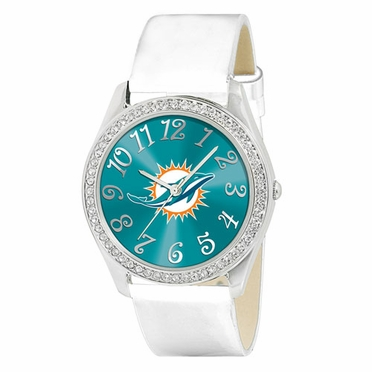 Miami Dolphins Women's Glitz Watch