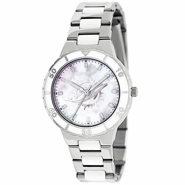 Miami Dolphins Women's Pearl Watch