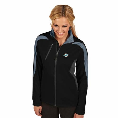 Miami Dolphins Womens Discover Jacket (Color: Black)