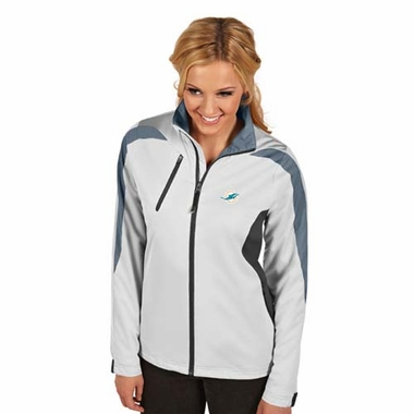 Miami Dolphins Womens Discover Jacket (Color: White)