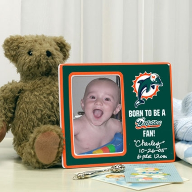 Miami Dolphins Youth Picture Frame