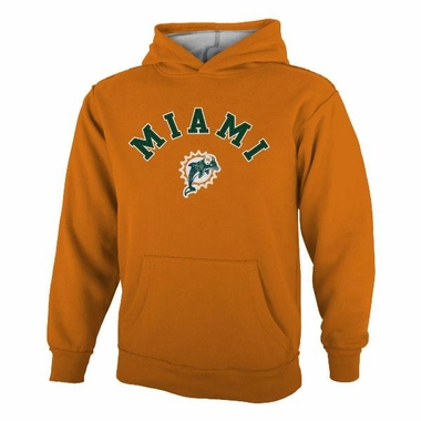 Miami Dolphins YOUTH Vintage Garment Washed Hoody