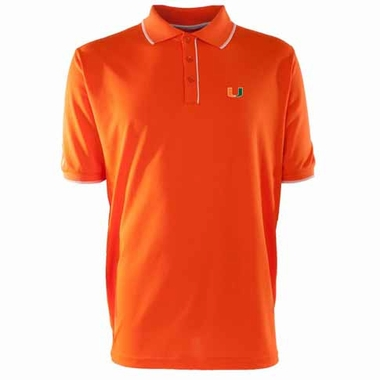 Miami Mens Elite Polo Shirt (Team Color: Orange)