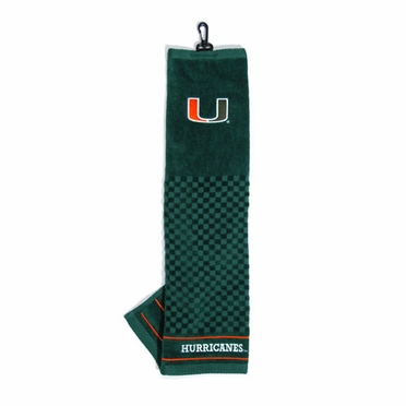 Miami Embroidered Golf Towel