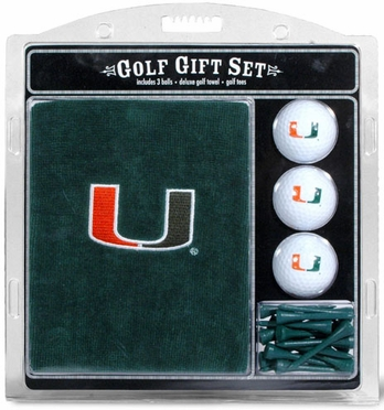Miami Embroidered Towel Gift Set