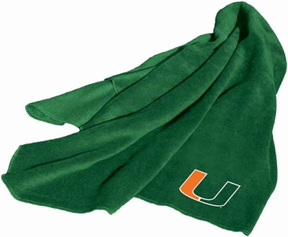 Miami Fleece Throw Blanket