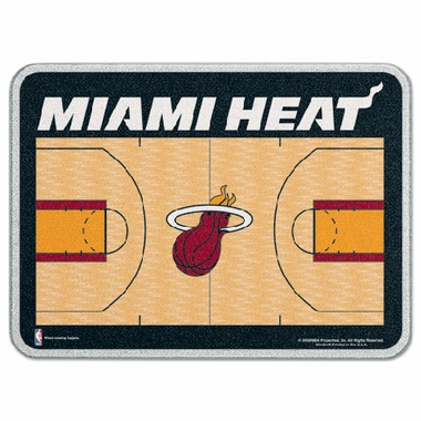 Miami Heat 11 x 15 Glass Cutting Board