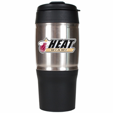 Miami Heat 18oz Oversized Travel Tumbler
