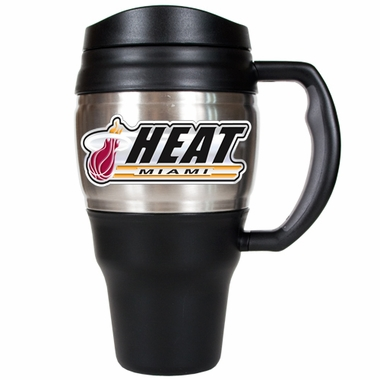 Miami Heat 20oz Oversized Travel Mug