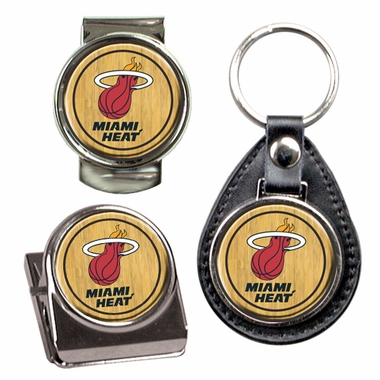 Miami Heat 3 Piece Gift Set