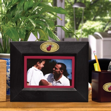 Miami Heat BLACK Landscape Picture Frame