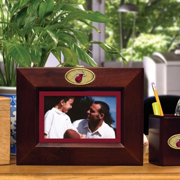 Miami Heat BROWN Landscape Picture Frame