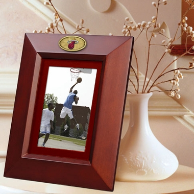 Miami Heat BROWN Portrait Picture Frame