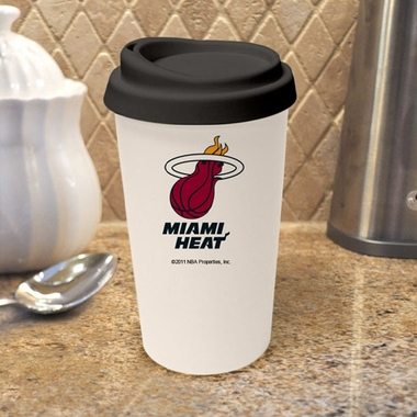 Miami Heat Ceramic Travel Cup
