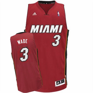 Miami Heat Dwyane Wade Team Color Swingman Replica Jersey