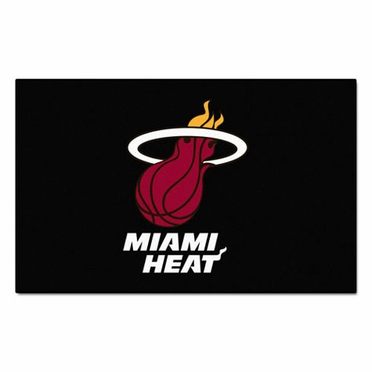 Miami Heat Economy 5 Foot x 8 Foot Mat