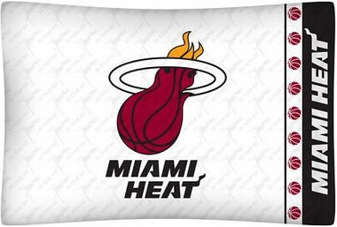 Miami Heat Individual Pillowcase