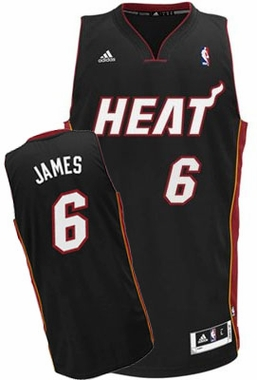 Miami Heat Lebron James Alternate Color Swingman Replica Jersey