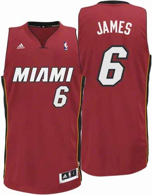 Miami Heat Lebron James Swingman YOUTH Jersey - Red