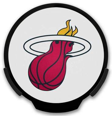 Miami Heat Light Up Power Decal