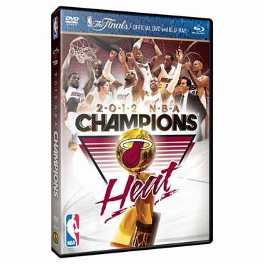 Miami Heat NBA Finals Champs DVD / BluRay Combo