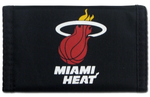 Rico Miami Heat Nylon Wallet