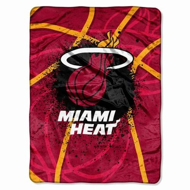 Miami Heat Oversize Plush Blanket