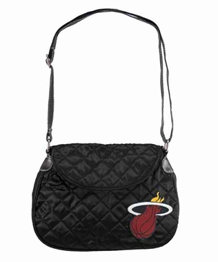 Miami Heat Quilted Saddlebag