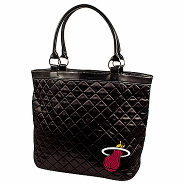 Miami Heat Quilted Tote